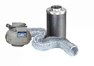 Ventilation kit PK160 800m3/h + Phresh Filter 1000m3