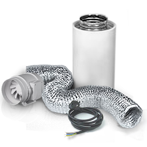 Ventilation kit TT315 PRO 2050m3/h + Phresh Filter 2500m3/h.