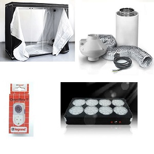 HomeBox 240x240x200cm. paket, LED 960w