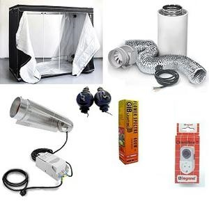 HomeBox XXL. pakke, HPS 1200w Cooltube