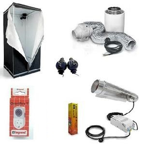 HomeBox Evolution Q80. paketteja, HPS 400w Cooltube
