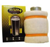 HY-FILTER carbon filter 100mm 250m³/h