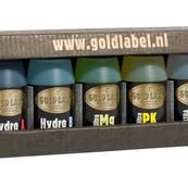 Gold Label nutrients package mini Hydro.