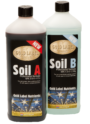 Gold Label Soil A&B 2 x 1L