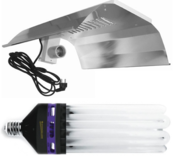 Pro Star 300W, dual spectrum with CFL reflector