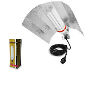 Low-power Lamp Kit 125W Red inc. reflector and plug