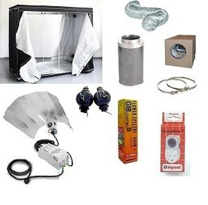 HomeBox 300x300x200cm. Packet HPS 4000w