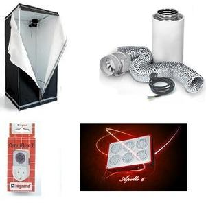 HomeBox Evolution Q100. paket, Apollo 6 LED 180w
